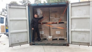 New Solar Panel Delivery